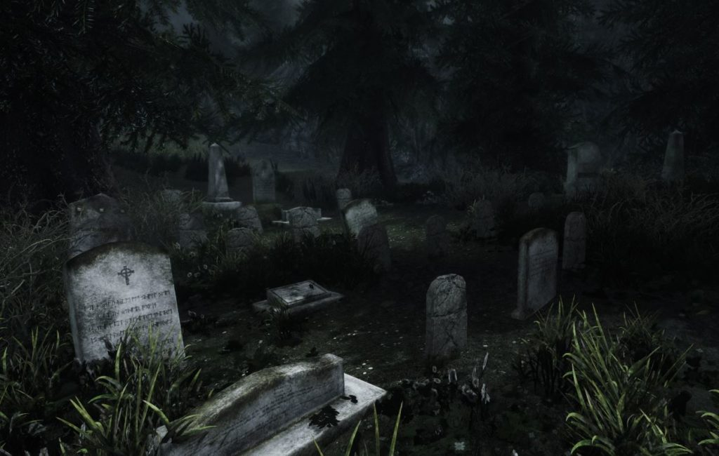 По мотивам АС. Кладбище